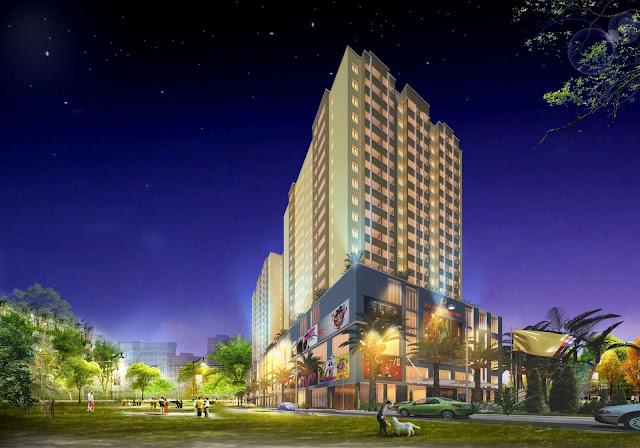 Tổng thể dự án căn hộ chung cư Lộc Ninh