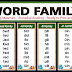 WORD FAMILY Reading Materials (Ready-to-Print)