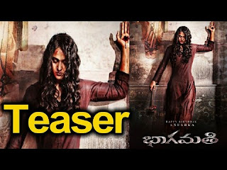 Anushka's Movie Bhaagamathie Official Teaser