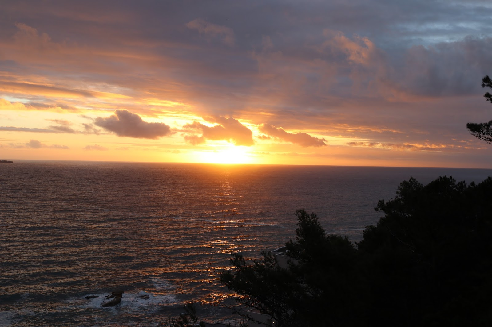 Sunset from Cape View Clifton, Cape Town, South Africa
