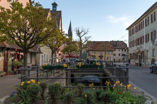 LT 17 Kur und Wein | Wandern in Bad Mergentheim | Liebliches Taubertal Weinlehrpfad Markelsheim | Wanderung um Bad Mergentheim 10