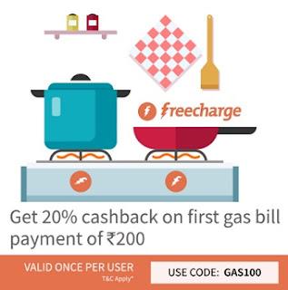 freecharge gas100