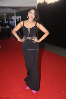 Madhu Shalini in a Glamorous Deep neck Black Sleeveless Dress at Mirchi Music Awards South 2017 ~  Exclusive Celebrities Galleries 054.JPG