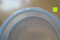 Deckel: Tefal 207370 Vorratsgläser, Glas, transparent, 3 Einheiten