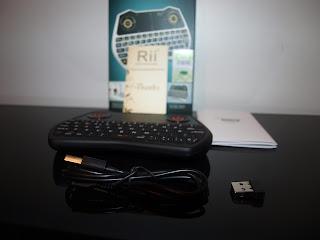 Análise Teclado Rii Mini One i28 5