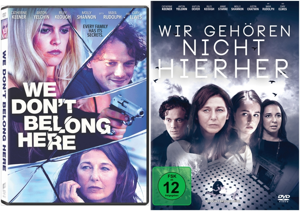 """Wir gehören nicht hierher"" - ""We don't belong here"" DVD Movie Covers"