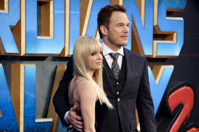 Chris Pratt and Anna Faris Guardians of the Galaxy Vol.2