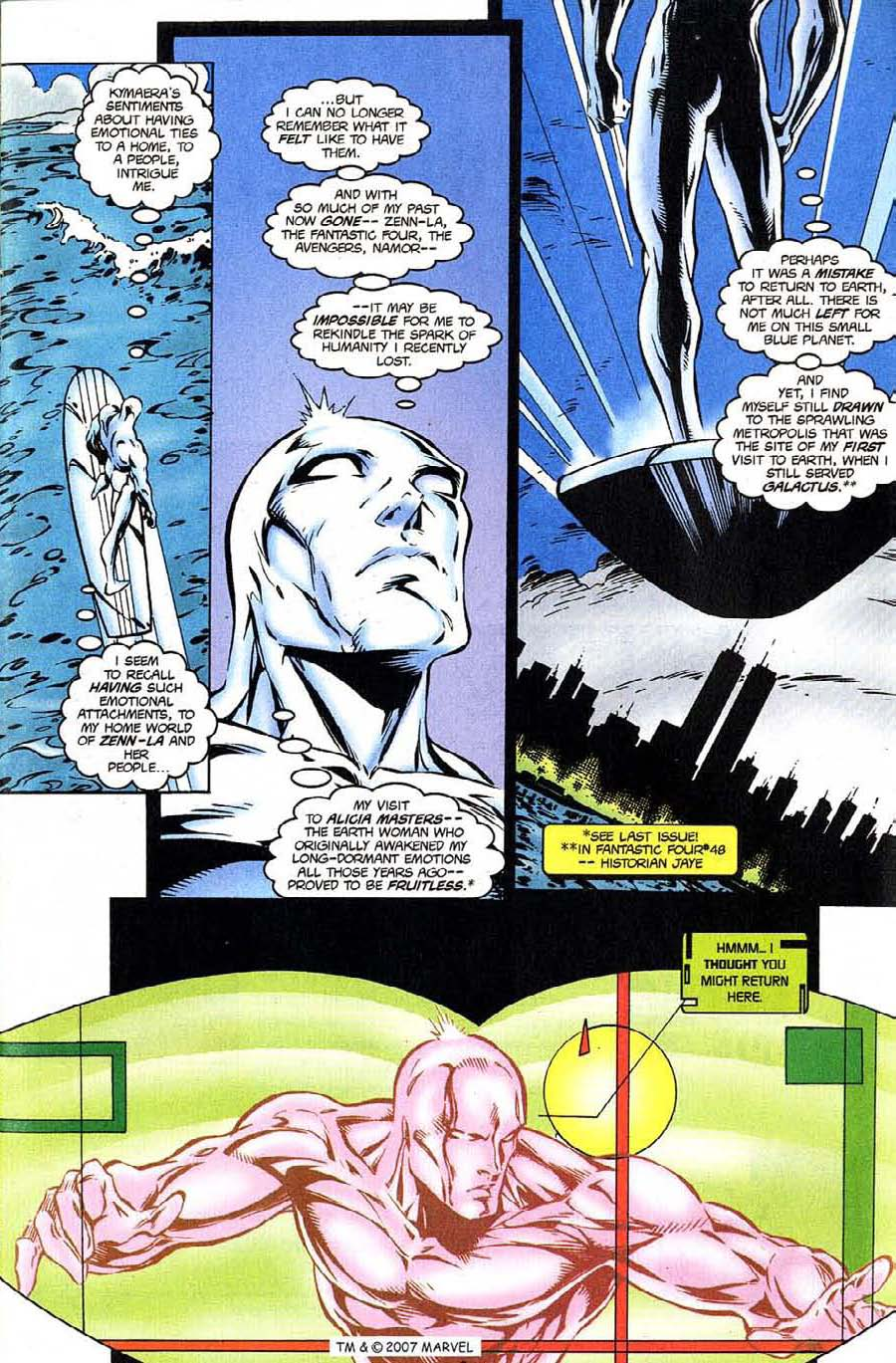 Read online Silver Surfer (1987) comic -  Issue #124 - 9