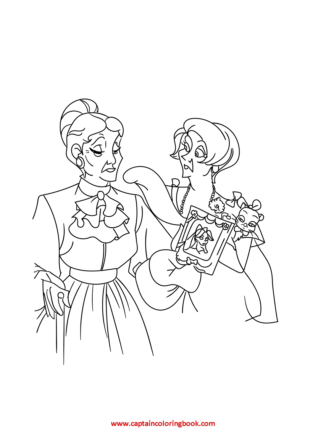 Disney Princess Anastasia Coloring Pages - Coloring Page