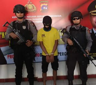 Susupkan Narkoba Ke LP, Pria Ini Dicyduk Polisi
