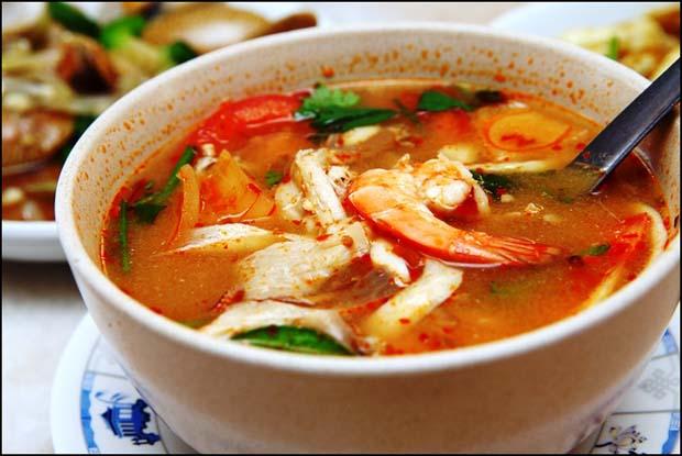 Cara Membuat Tom Yam Seafood Super Pedas