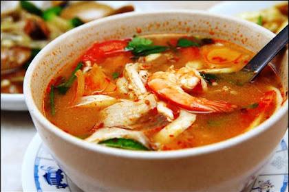 Resep Cara Membuat Tom Yam Seafood Super Pedas