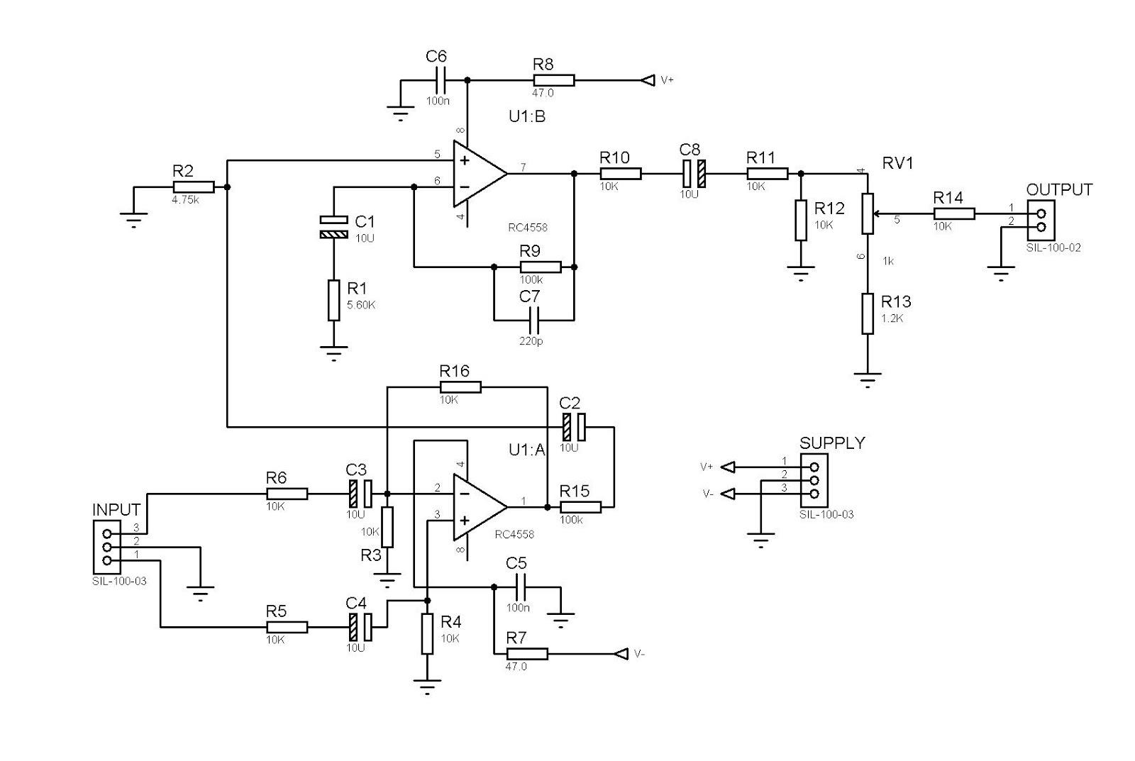 Tda2040 Power Amplifier Circuit Circuits T And Transistors Bd908 Bd907 18w Hifi Audio Xtronic Input Balance 4558