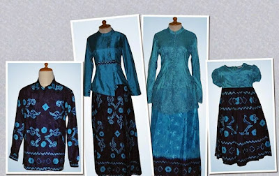 34 Model Baju Sasirangan Kombinasi Brokat Kantoran Terbaru9 Info