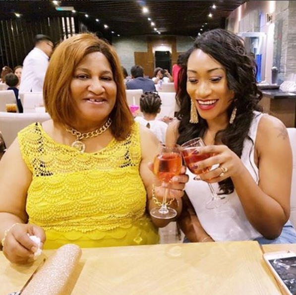 TOP ACTRESS OGE OKOYE'S MUM CELEBRATES HER BIRTHDAY TODAY- SEE WHAT THE ACTRESS DID (PHOTOS)