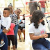 MPNAIJA GIST:Tonto Dikeh & her Son, King Andre spotted at an Easter outreach for IDP women in Abuja