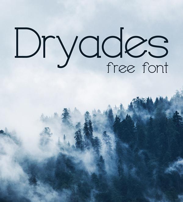 Download Font Terbaru 2018 - DRYADES Free Font