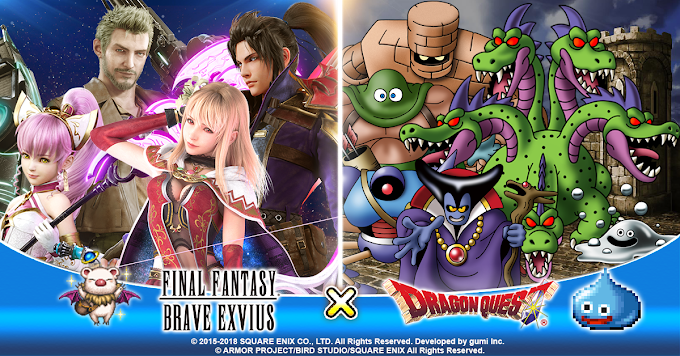 Final Fantasy Brave Exvius Collaborates With Dragon Quest For An In-Game Event