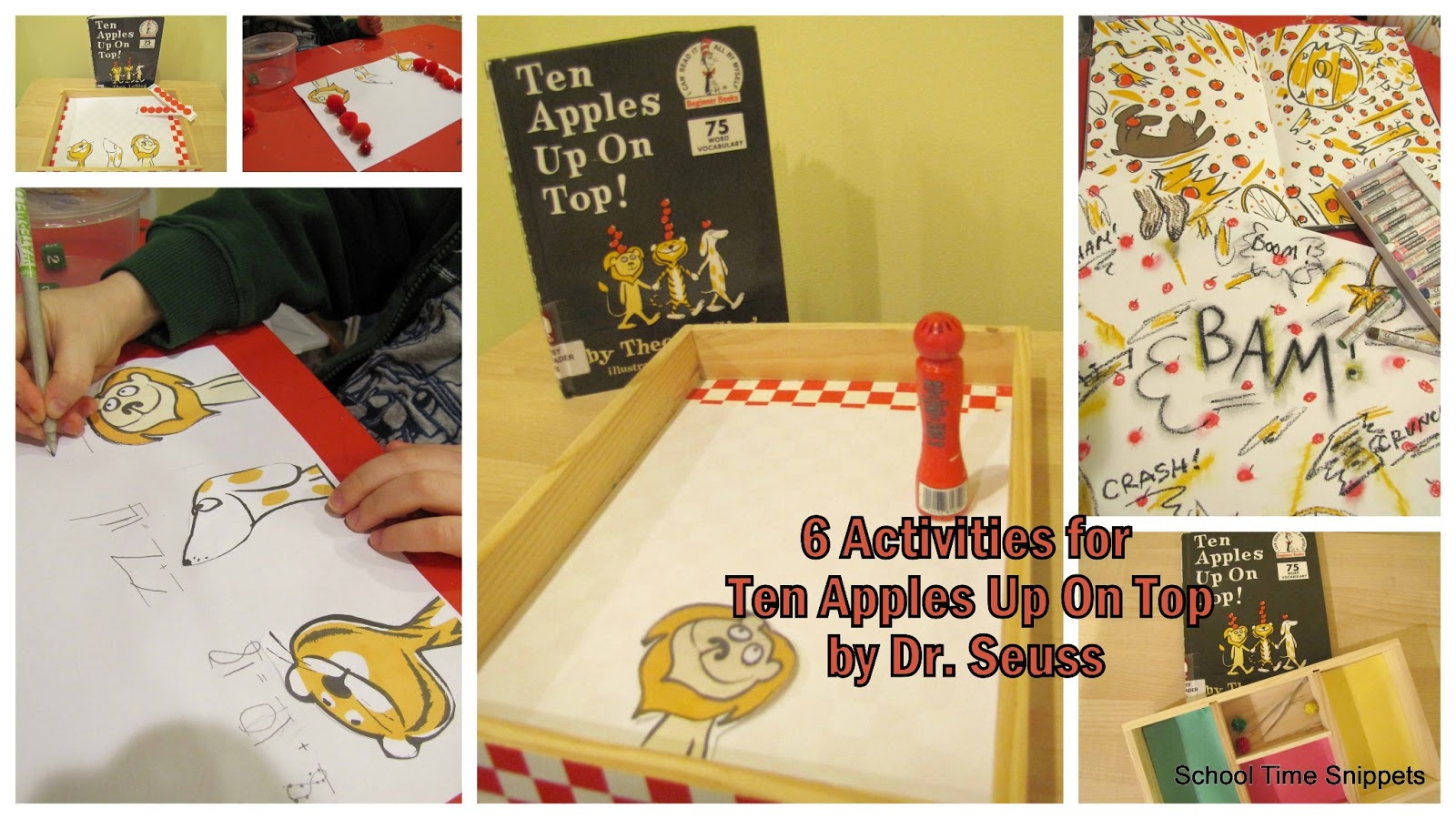 6 Activities For Ten Apples Up On Top