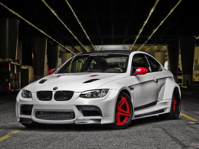 Foto Modifikasi Mobil BMW M3 White