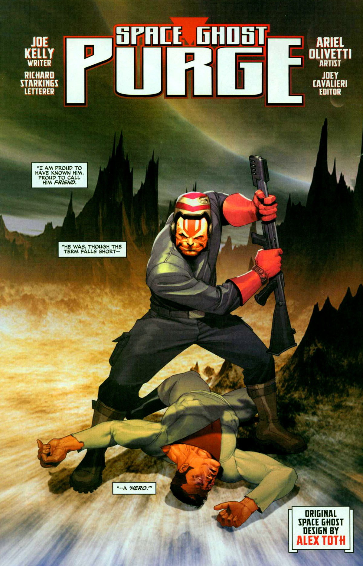 Read online Space Ghost (2005) comic -  Issue #2 - 3