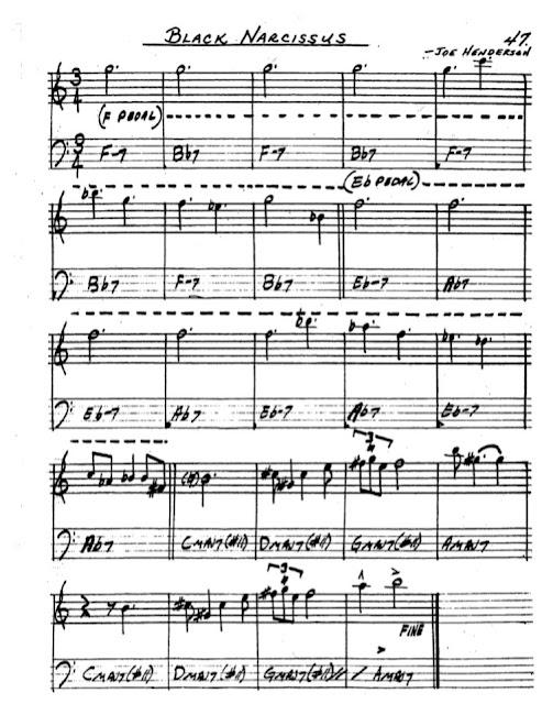 Partitura Saxofón Joe Henderson