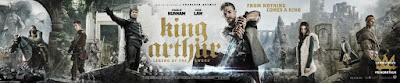 King Arthur Legend of the Sword Banner Poster 2