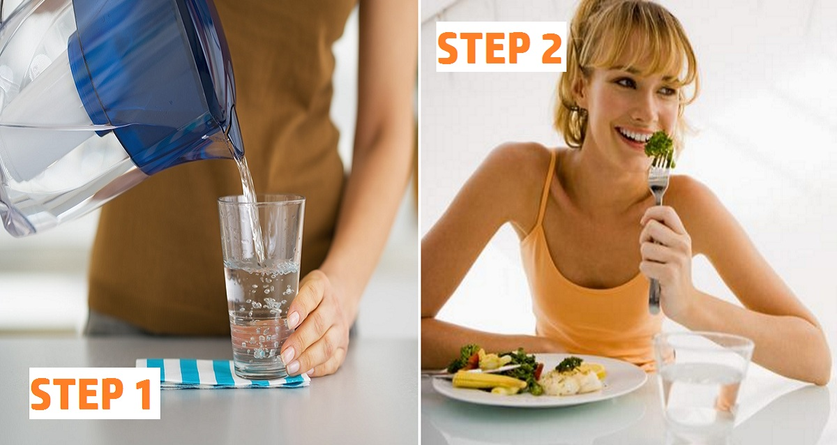 Image result for drink water before meal