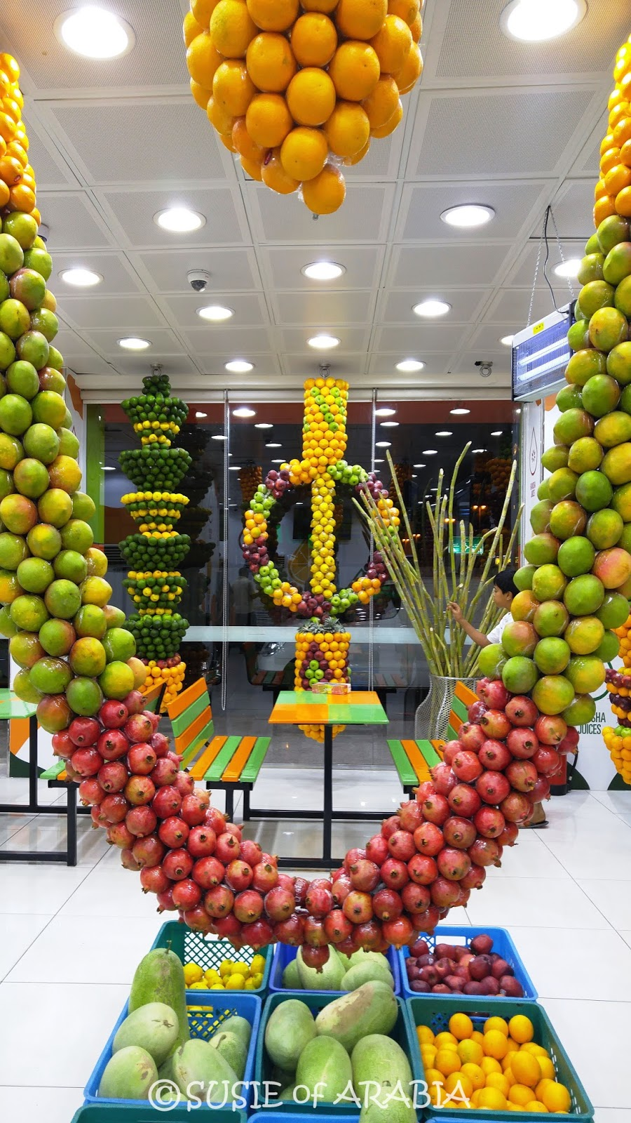 Jeddah Daily Photo Our World Jeddah Juice Shop Decor