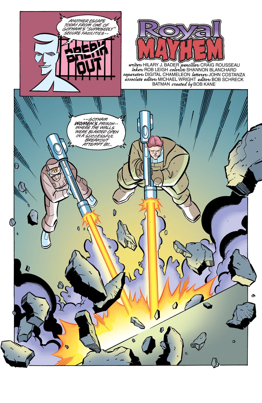 Batman Beyond [II] 19 Page 2