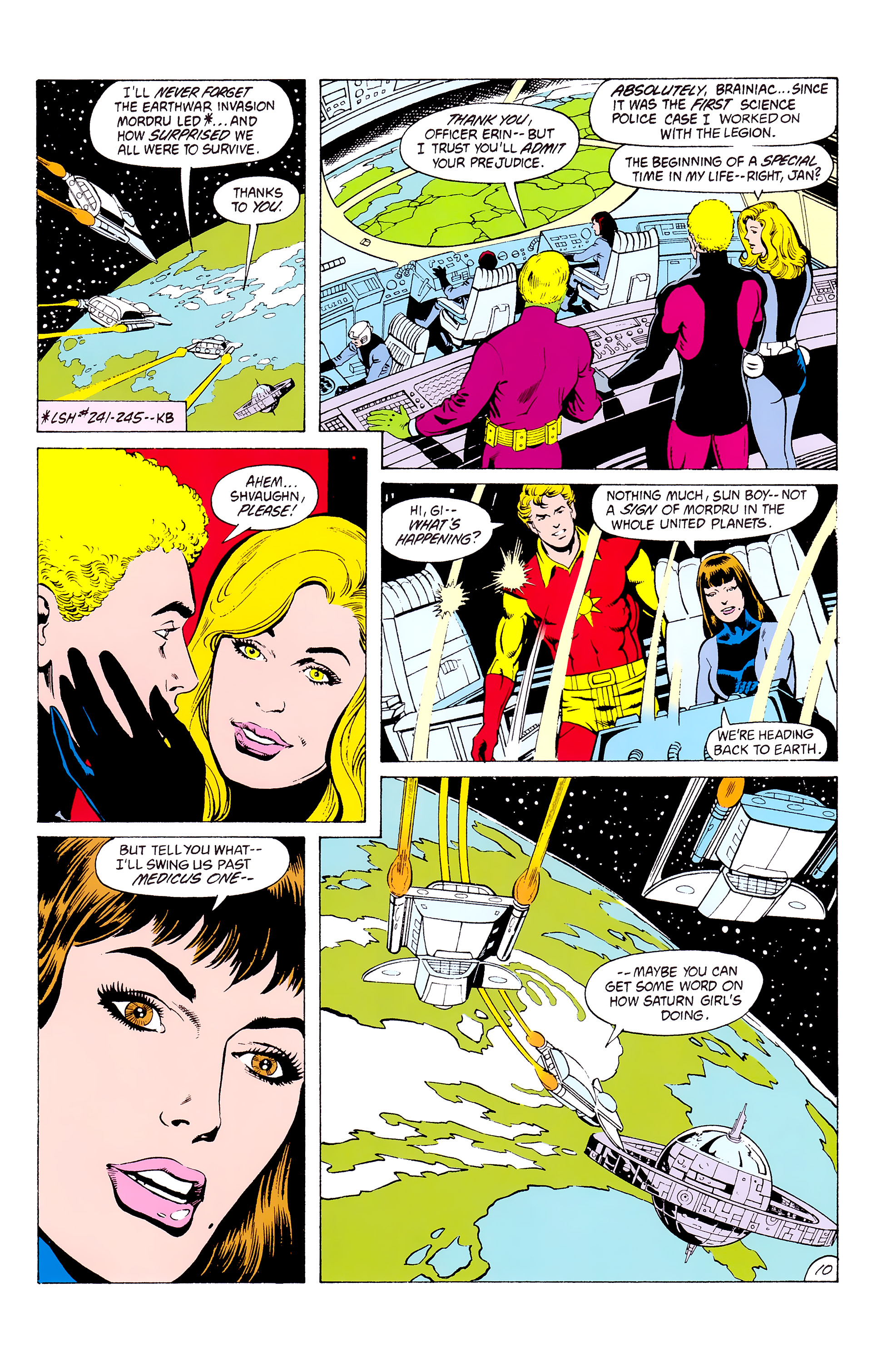Legion of Super-Heroes (1980) _Annual_3 Page 10