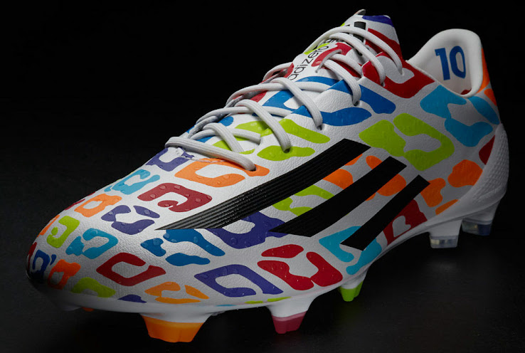 Lionel Messi Colorful Birthday 2014 World Cup Boot Unveiled - Footy ... e3ddb0a82c070