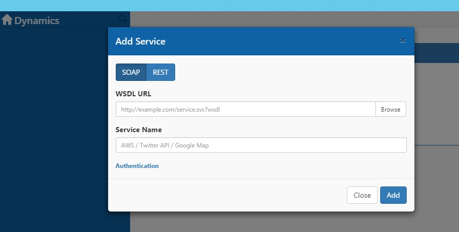 How to download wsdl file from url