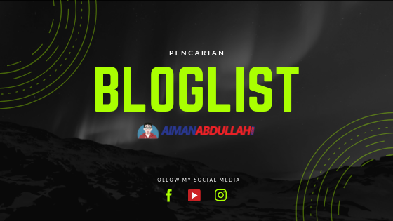 bloglist aimanabdullah.com
