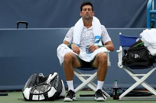 Djokovic overcomes stomach trouble in Cincinnati