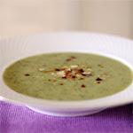Žaliųjų daržovių sriuba