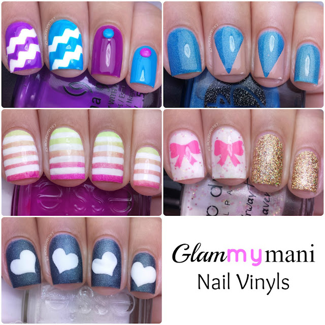 Glam My Mani Nail Vinyls Review