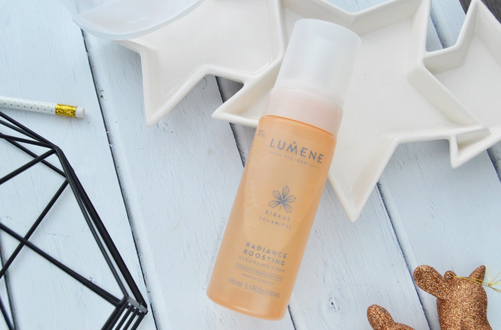 Lumene - rozświetlająca pianka do mycia twarzy