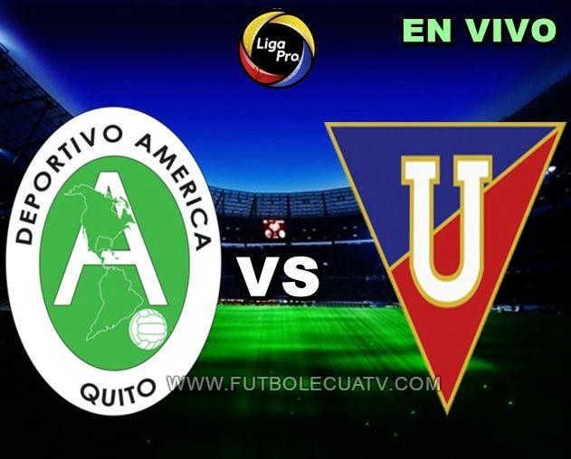 América recibe a Liga de Quito en vivo 📺 a partir de las 17:15 horario determinado por la comitiva a jugarse en el campo Olímpico Atahualpa por la fecha tres del Fútbol Ecuatoriano, siendo el juez principal Guillermo Guerrero con transmisión del canal autorizado GolTV.