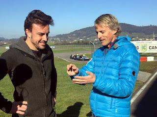 Planeta Calleja con Fernando Alonso 2