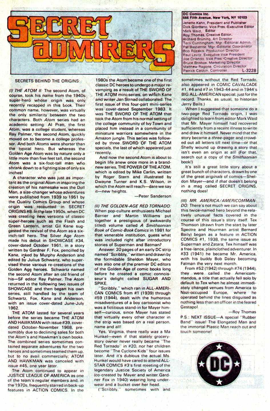 Read online Secret Origins (1986) comic -  Issue #29 - 45