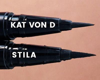 Kat Von D vs Stila Eyeliner Pen :: 31 Days of Liquid Eyeliner