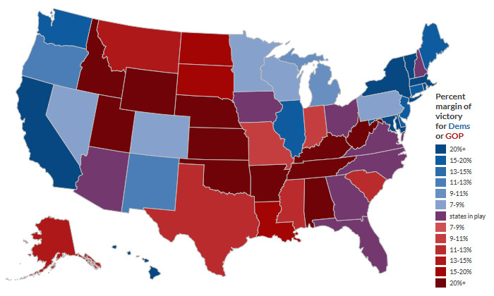 2020 Electoral maps: How hispanic & asian voters could change the electoral college