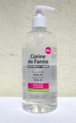 500 мл мицеллярной воды Corine de Farme