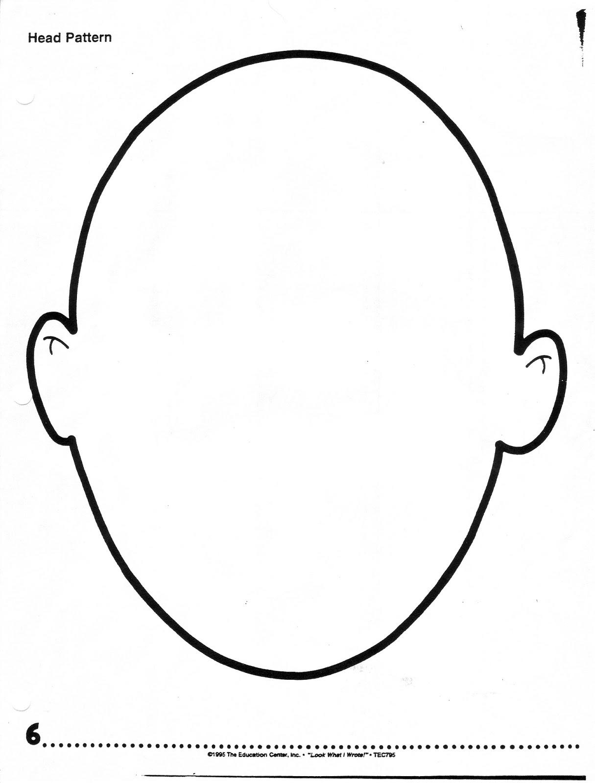 Blank Head Template