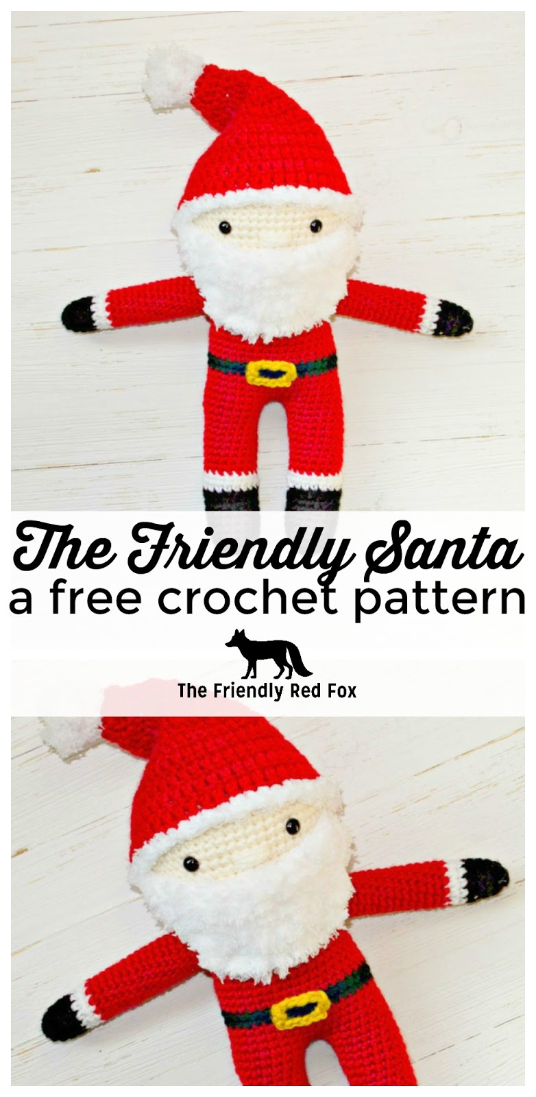 picture regarding Santa Claus Patterns Printable referred to as Free of charge Crochet Santa Routine -