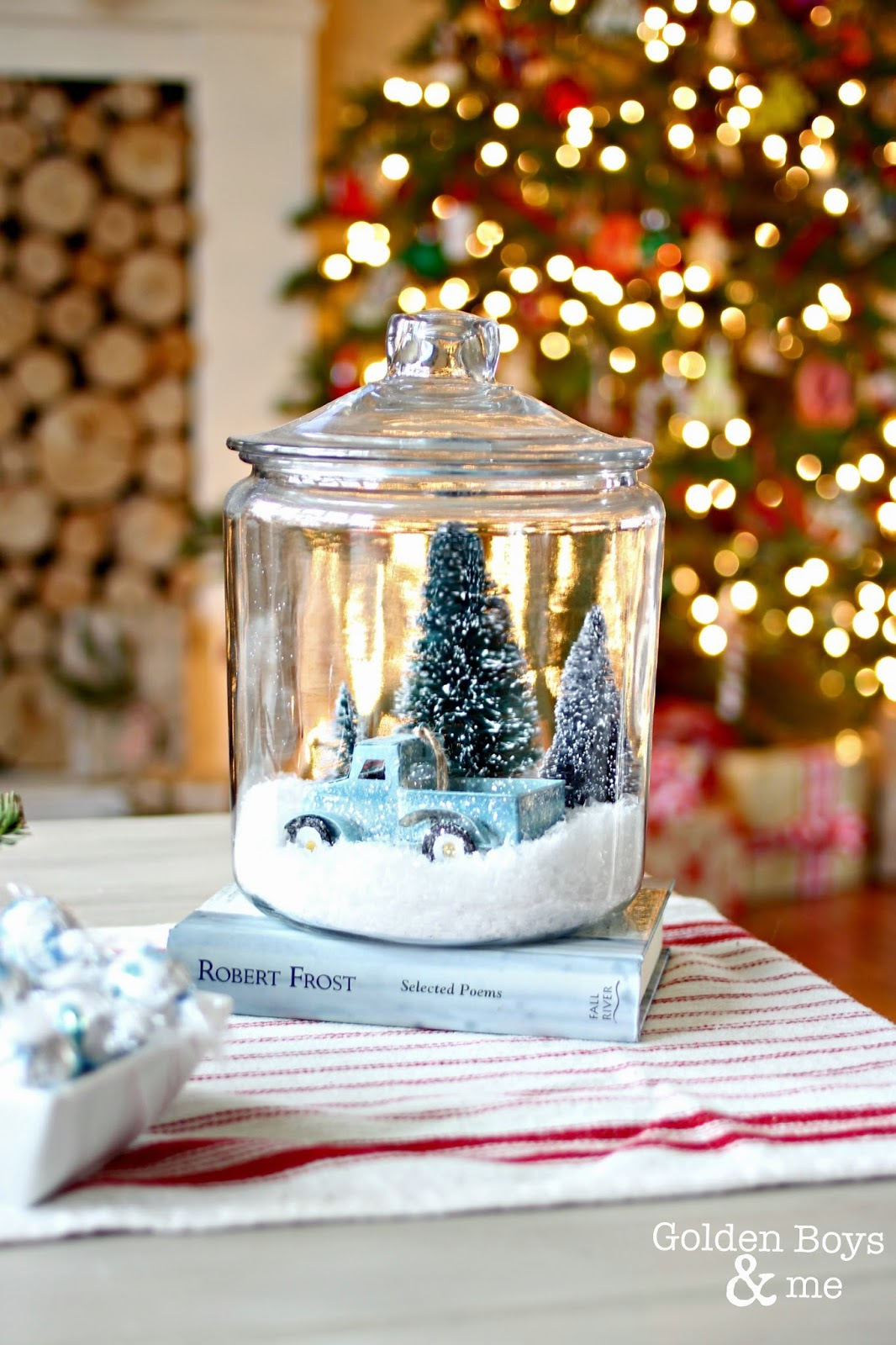 Diy Winter Decor Forrest