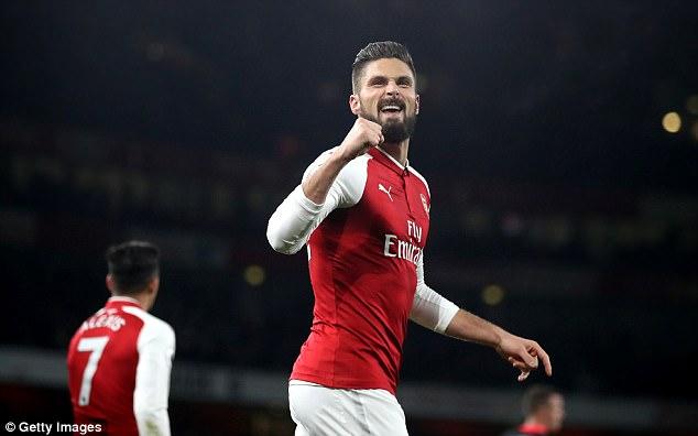 Mức giá Arsenal đưa ra cho Chelsea để chiêu mộ Giroud