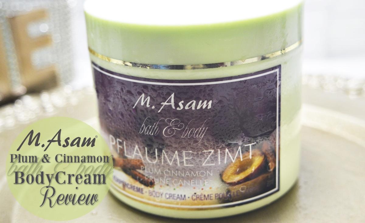 Plum & Cinnamon Body Cream Review Top Picture