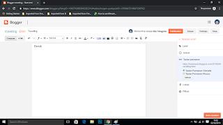 Cara Membuat Blog dengan Blogspot